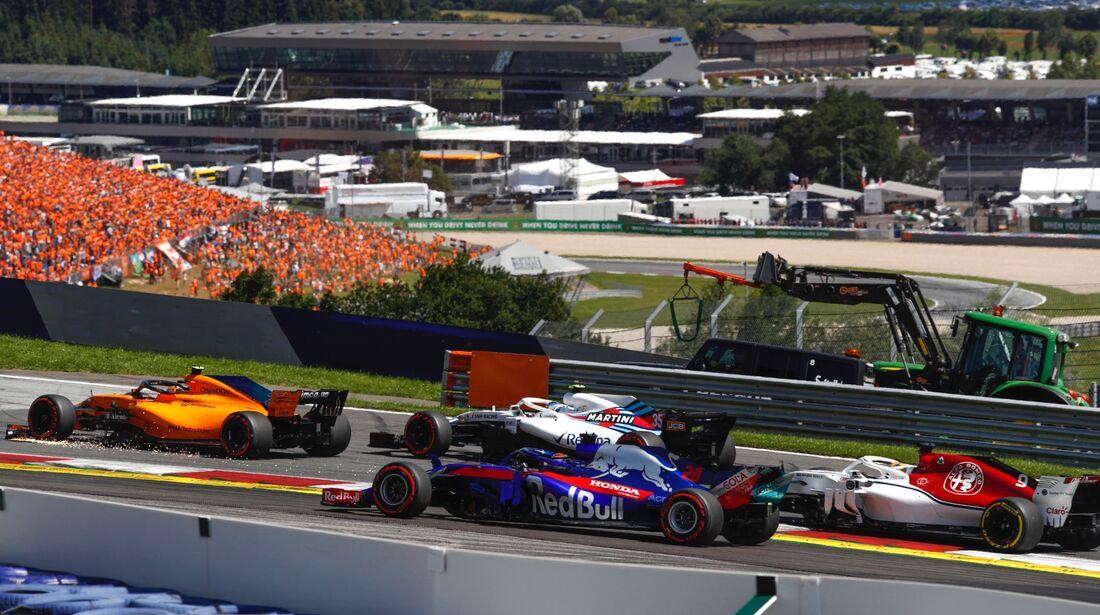 Pierre Gasly - Toro Rosso - Formel 1 - GP Österreich - 1. Juli 2018