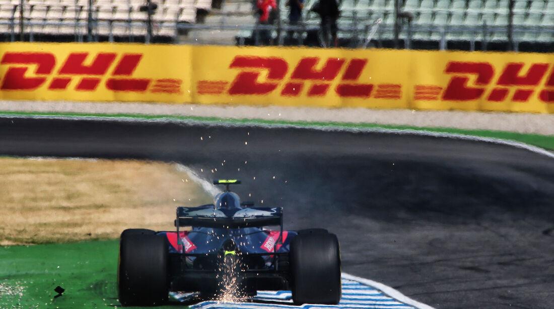 Pierre Gasly - Toro Rosso - GP Deutschland - Hockenheim - Formel 1 - Freitag - 20.7.2018