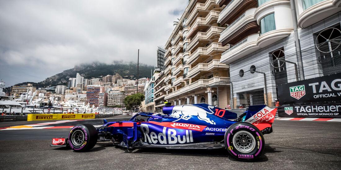 Pierre Gasly - Toro Rosso - GP Monaco 2018