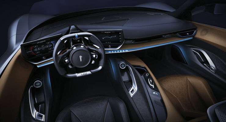 Pininfarina Automobili Battista Cockpit Interieur