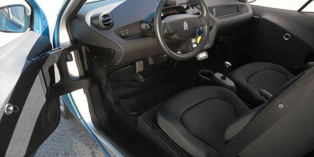 Pininfarina Nido EV, Innenraum, Cockpit