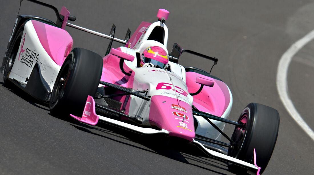 Pippa Mann - Indy 500 - 2015