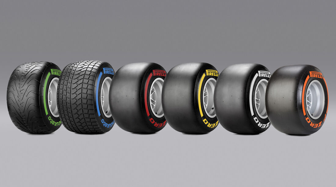 Pirelli F1 Range 2014