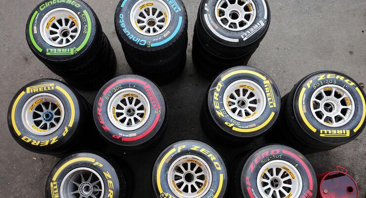 Pirelli - Formel 1-Test - Barcelona - 1. März 2015
