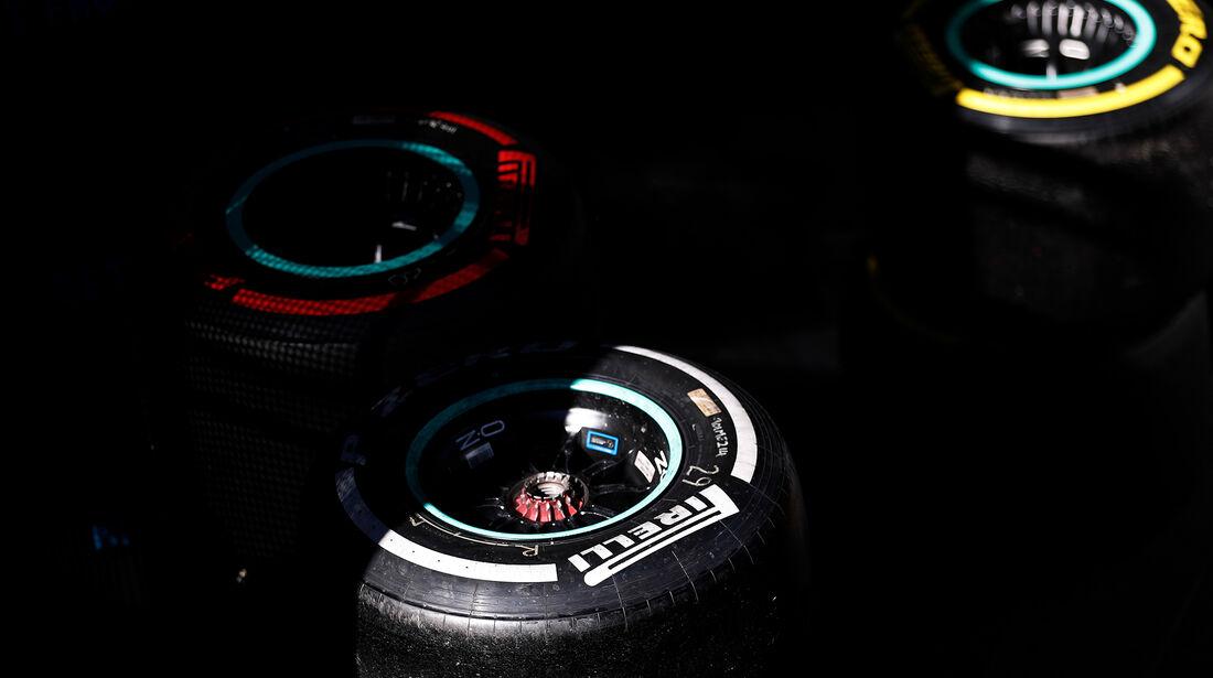 Pirelli-Reifen - Barcelona - F1-Test - 27. Februar 2019