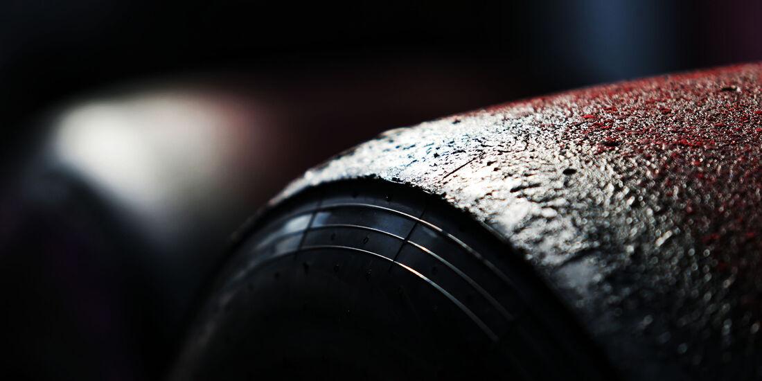 Pirelli-Reifen - Formel 1 - GP Belgien - Spa-Francorchamps - 26. August 2017
