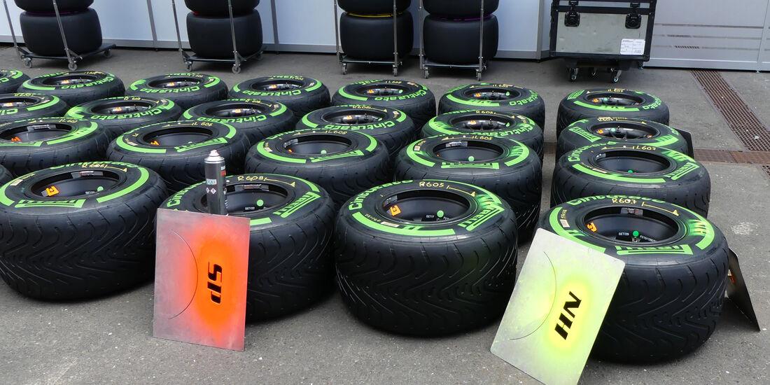 Pirelli-Reifen - Formel 1 - GP Österreich - Spielberg - 30. Juni 2016