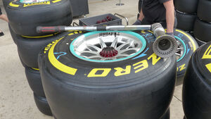 Pirelli-Reifen - Formel 1 - GP USA - Austin - 22. Oktober 2015