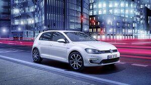 Plug-in-Hybrid von Volkswagen: VW Golf GTE.