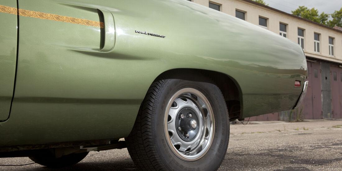 Plymouth Roadrunner 440, Vorderrad