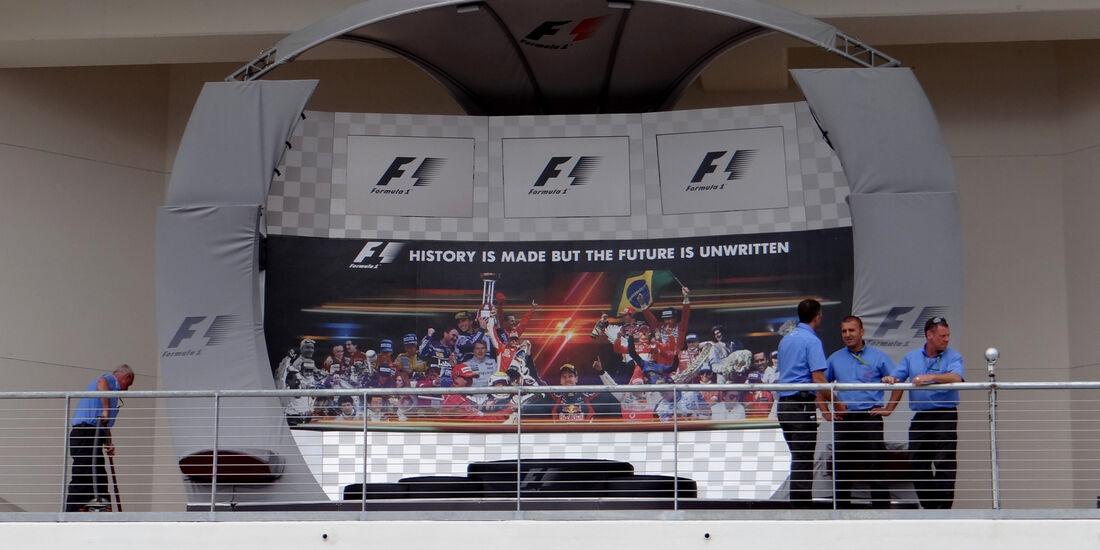 Podium - Formel 1 - GP USA - Austin - 15. November 2012