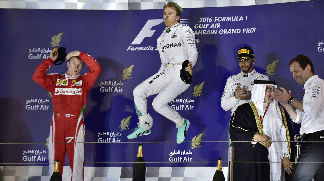 Podium - GP Bahrain 2016