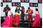 Podium GP Korea 2012