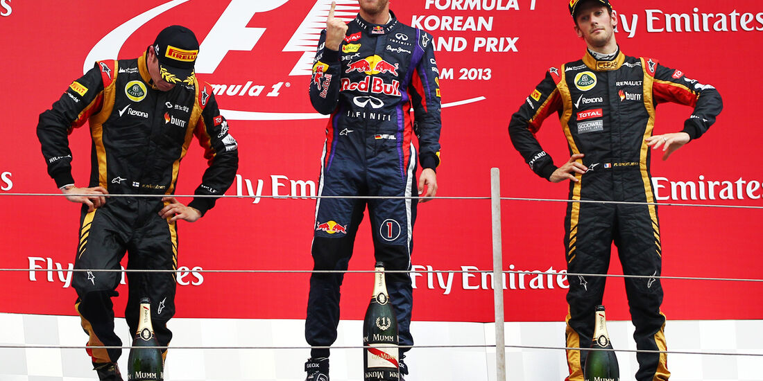 Podium - GP Korea 2013