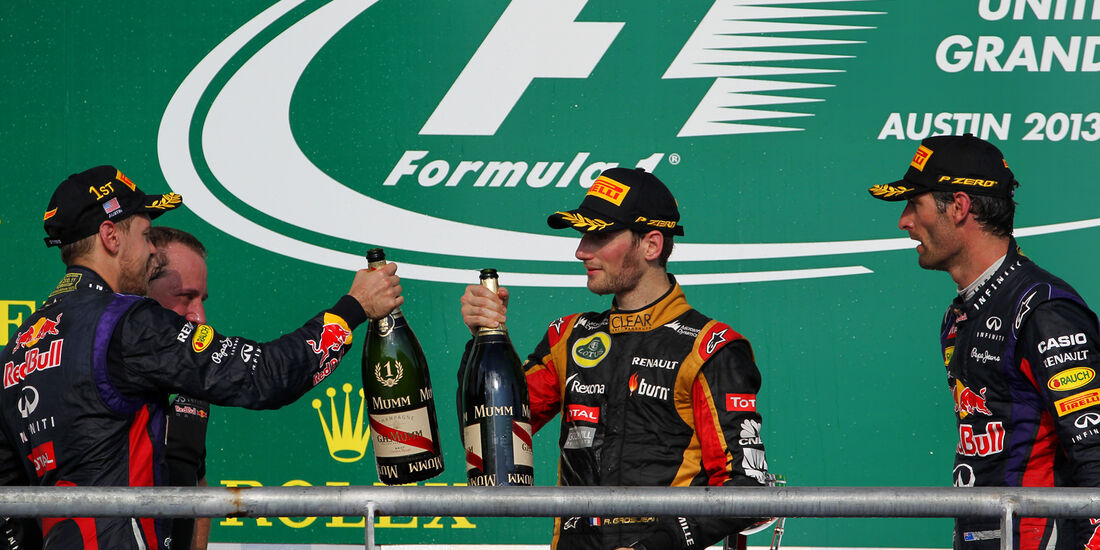 Podium - GP USA 2013