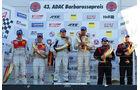 Podium Siegerehrung VLN Langstreckenmeisterschaft Nürburgring, 8.Rennen, 24-09-2011