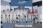 Podium - WEC Nürburgring 2015