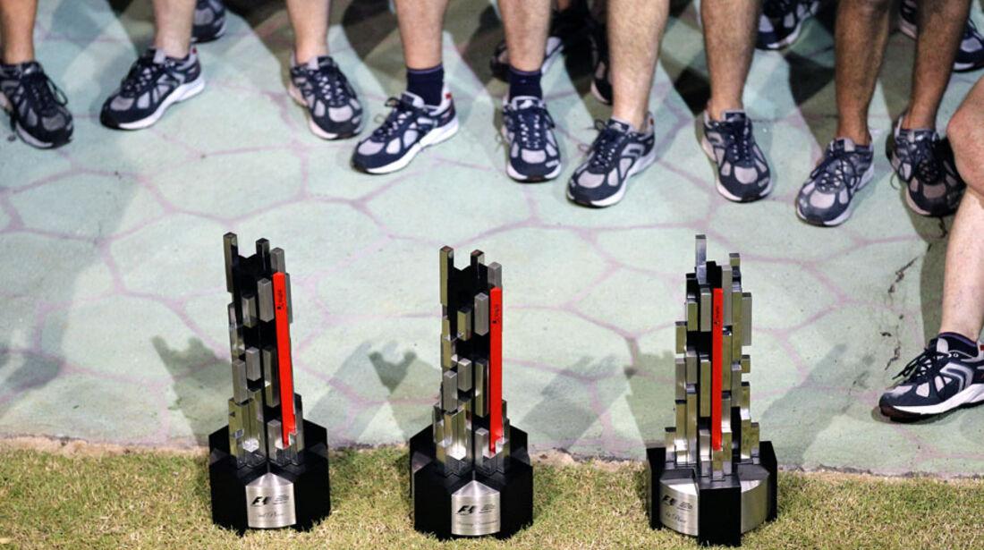 Pokale GP Singapur 2011