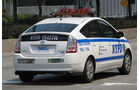 Polizei und Taxis in New York