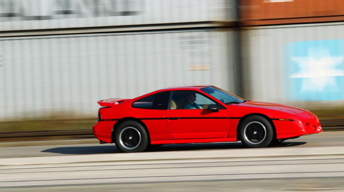 Pontiac Fiero GT, Seitenansicht