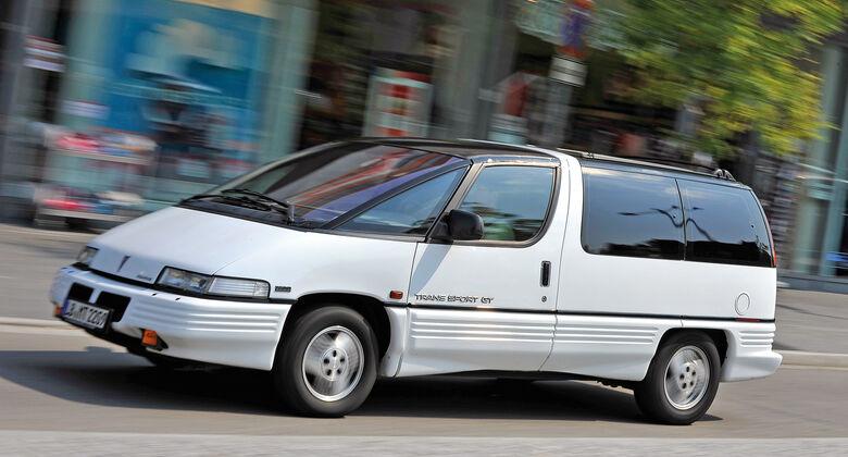 Pontiac Trans Sport, Seitenansicht
