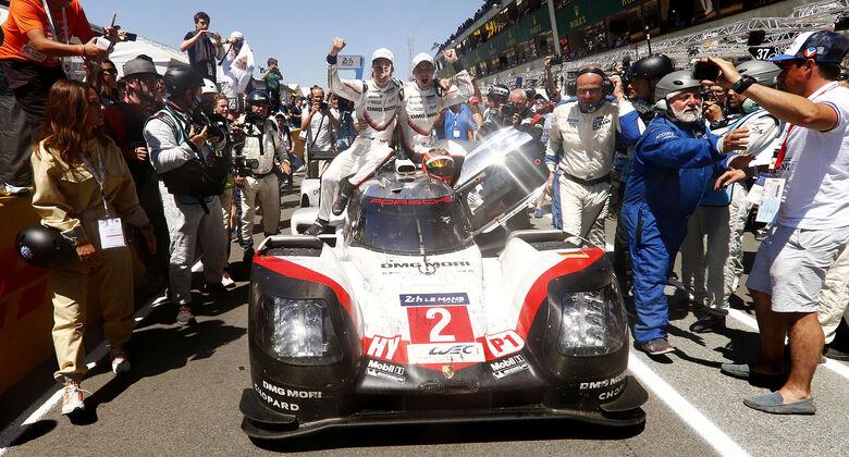 Porsche schafft Le Mans-Hattrick