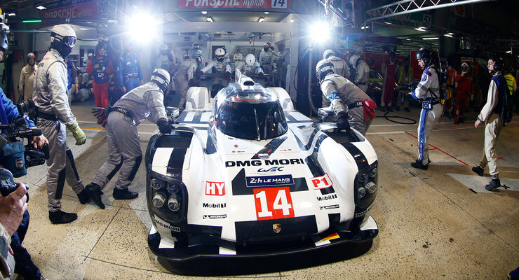 Porsche - 24h Le Mans - 11. Juni 2014