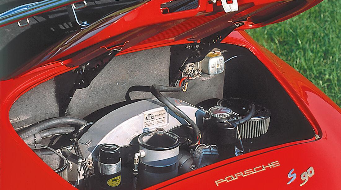 Porsche 356 , Motor