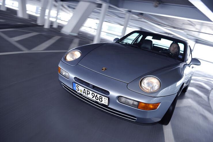 Porsche 698 Coupe, Front