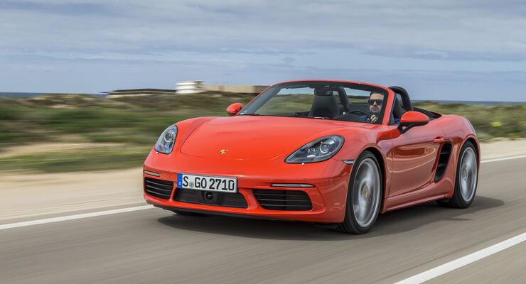 Porsche 718 Boxster (2016), Fahrbericht, Exterieur