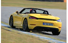 Porsche 718 Boxster, Heckanasicht