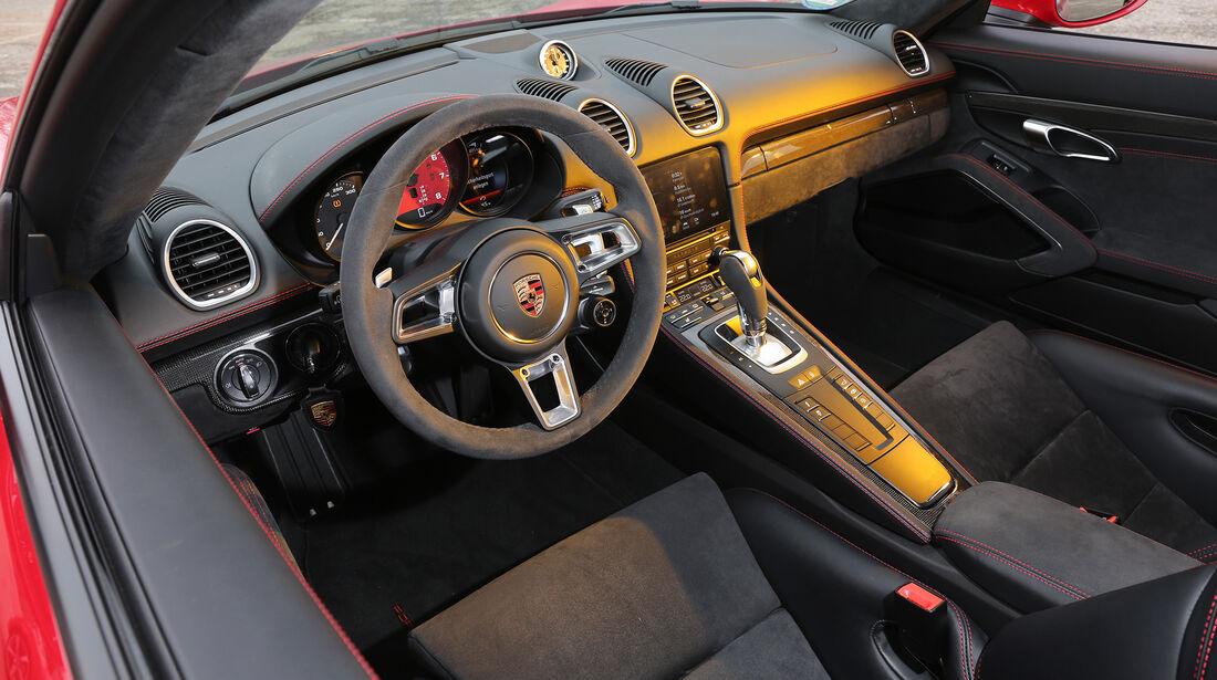 Porsche 718 Cayman GTS PDK, Interieur