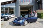 Porsche 911 (996), Seitenansicht