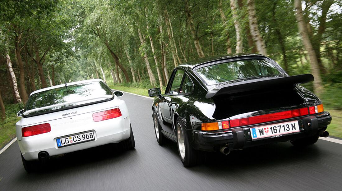 Porsche 911 Carrera 3.2 CS, Porsche 968 CS