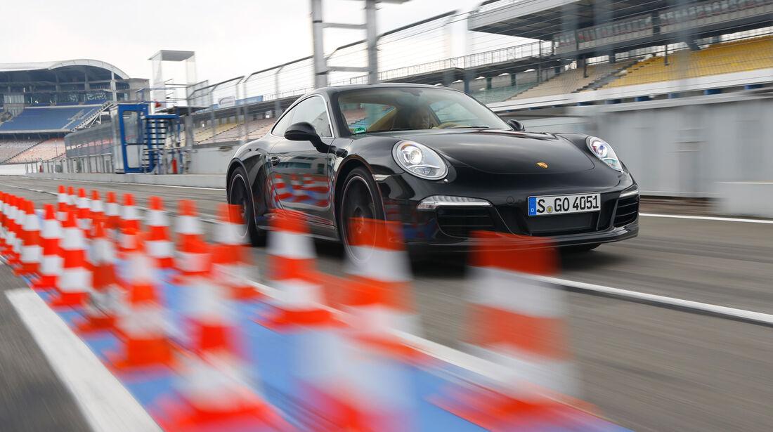 Porsche 911 Carrera 4, Bremstest