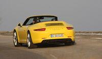 Porsche 911 Carrera Cabriolet, Heck