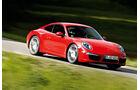 Porsche 911 Carrera, Frontansicht