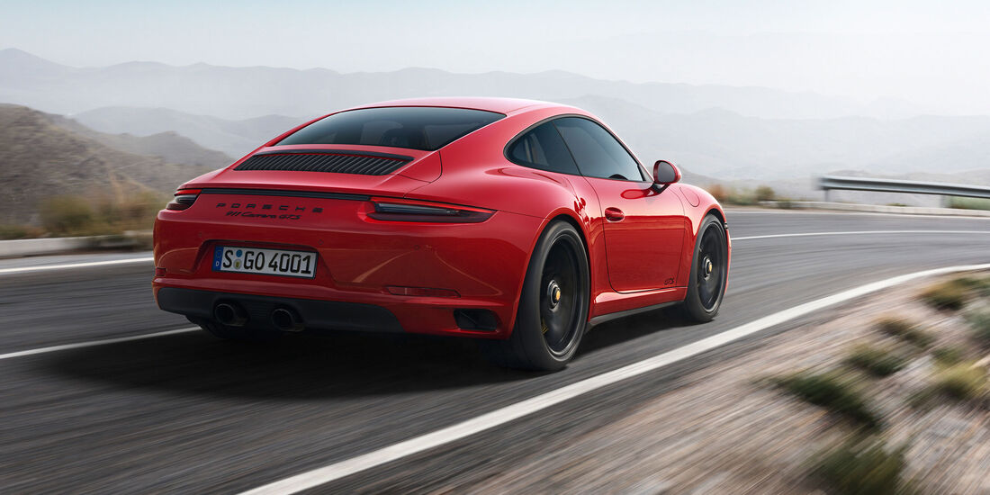 Porsche 911 Carrera GTS - Coupé - Sportwagen - Turbo - Heckmotor