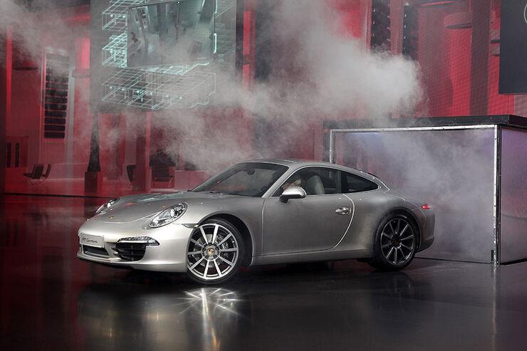 Porsche 911 Carrera S 991, IAA 2011