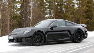 Porsche 911 Erlkönig 2018