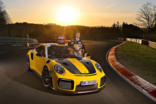 Porsche 911 GT2 RS - Sportwagen - Supertest