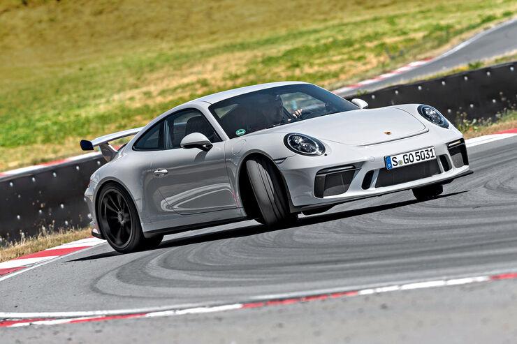 Porsche 911 GT3 (991), Front