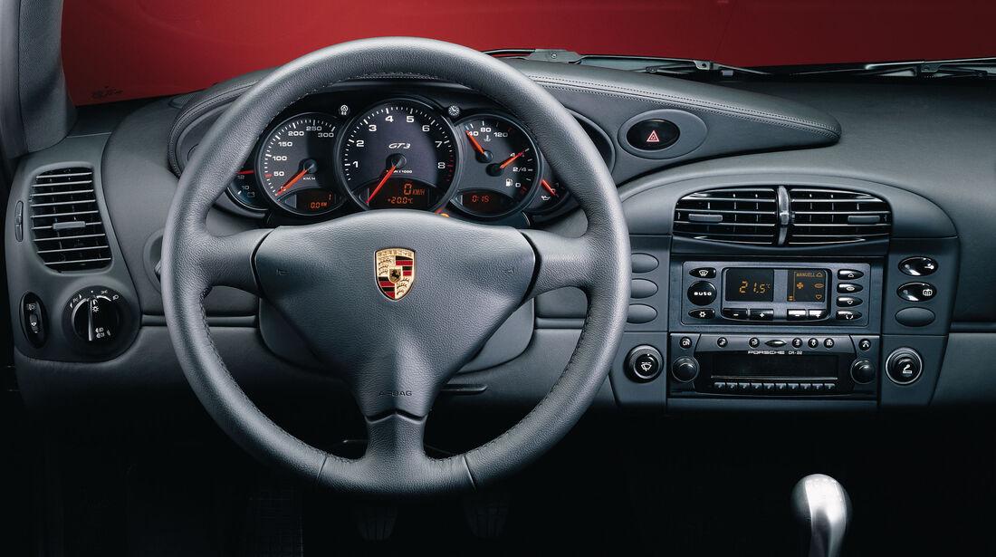 Porsche 911 GT3 (996) 1999 - Sportwagen - Lenkrad - Innenraum