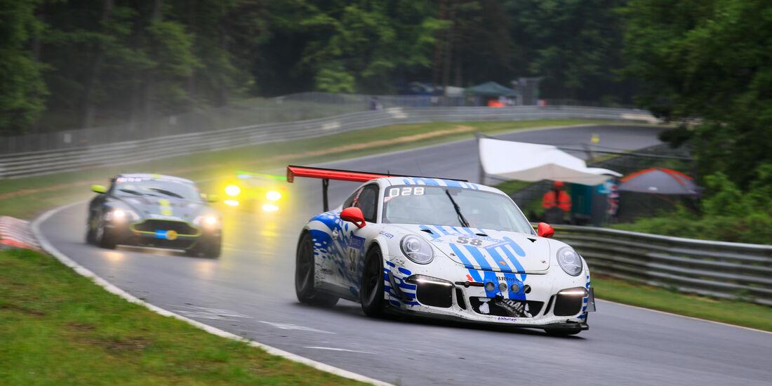 Porsche 911 GT3 Cup - Startnummer #58 - 24h-Rennen Nürburgring 2018 - Nordschleife - 13.5.2018