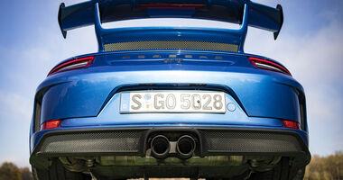 Porsche 911 GT3, Exterieur, Spoiler