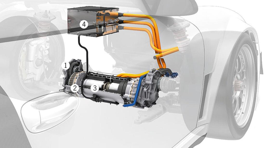 Porsche 911 GT3 R Hybrid Technik