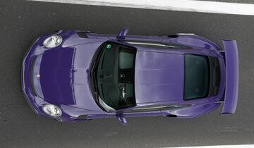 Porsche 911 GT3 RS, Draufsicht