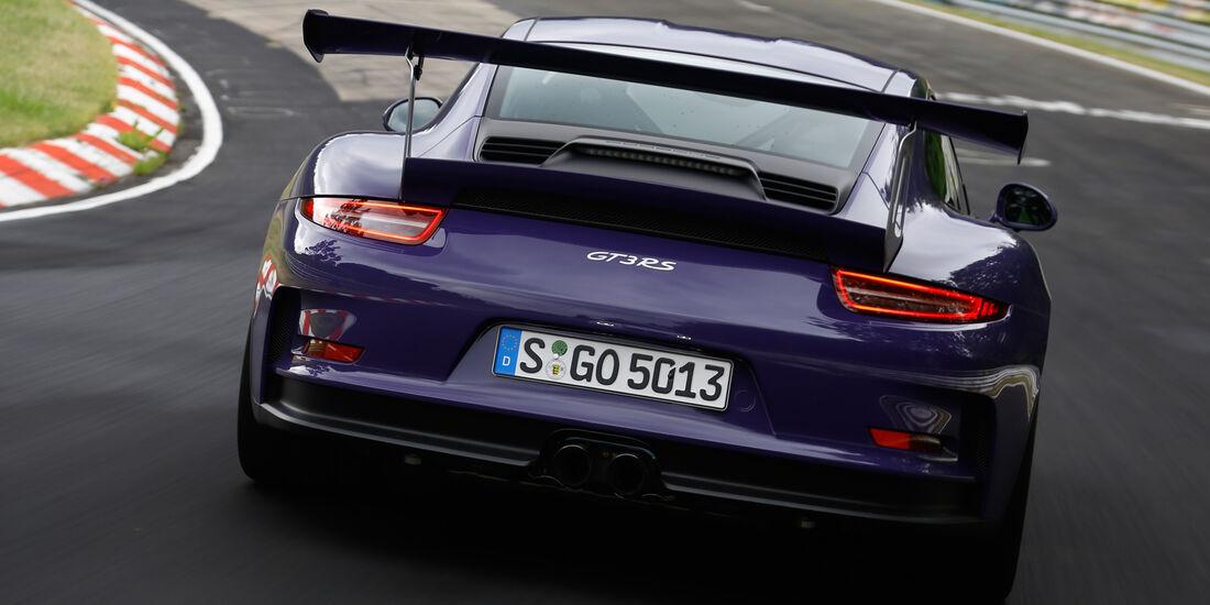 Porsche 911 GT3 RS, Heckansicht
