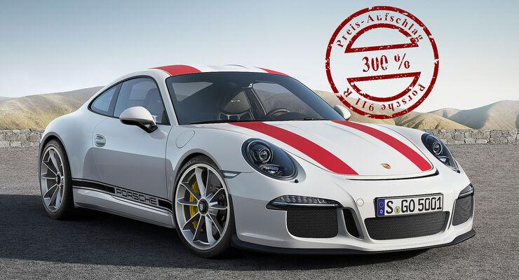 Porsche 911 R: Spekulantenaufschlag von 1 Mio. Euro - auto motor und ...