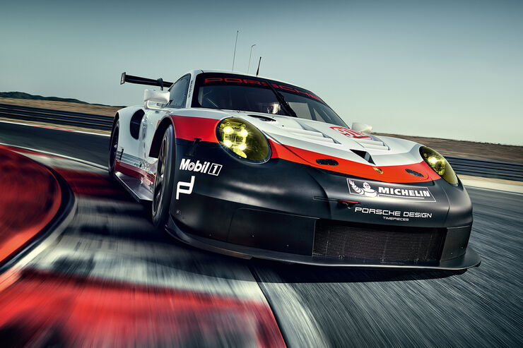 Porsche 911 RSR (2017)
